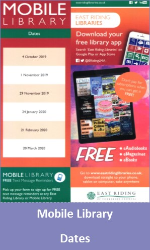 Mobile Library Dates